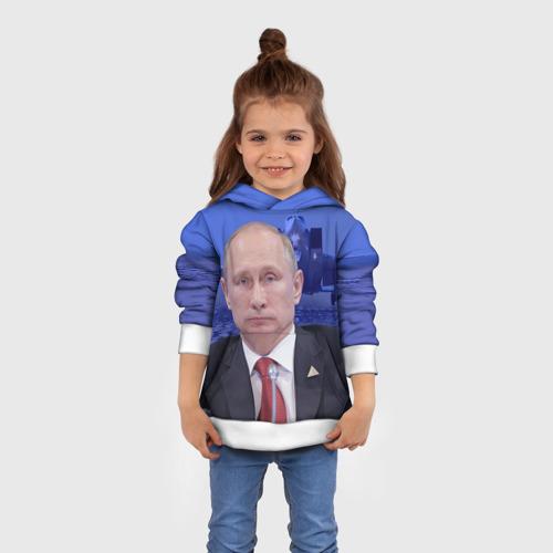 Детская толстовка 3D  Фото 01, Путин