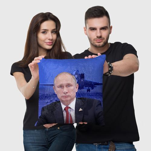 Подушка 3D  Фото 03, Путин