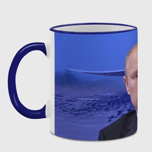 Кружка с полной запечаткой Путин Фото 01