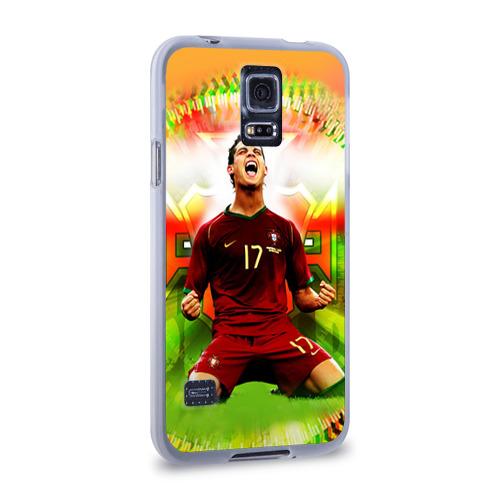 Чехол для Samsung Galaxy S5 силиконовый  Фото 02, Роналдо
