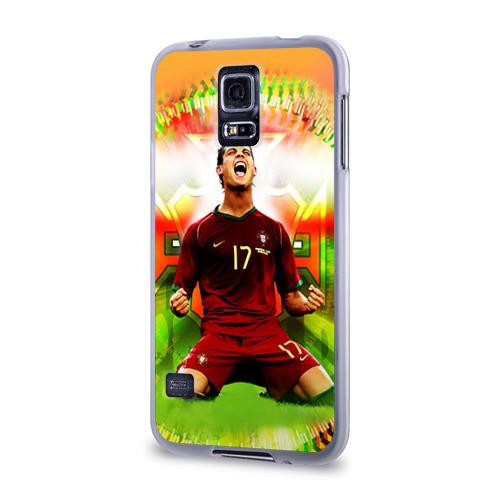 Чехол для Samsung Galaxy S5 силиконовый  Фото 03, Роналдо