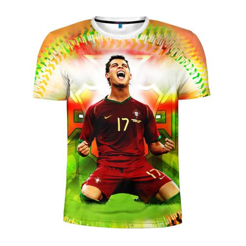 Мужская футболка 3D спортивная  Фото 01, Роналдо