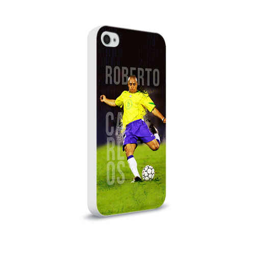 Чехол для Apple iPhone 4/4S soft-touch  Фото 02, Roberto Carlos