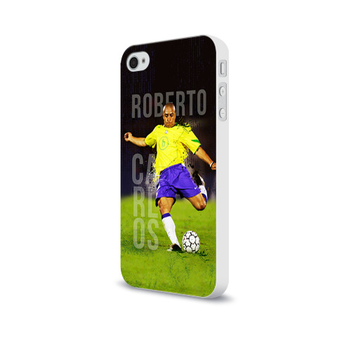 Чехол для Apple iPhone 4/4S soft-touch  Фото 03, Roberto Carlos