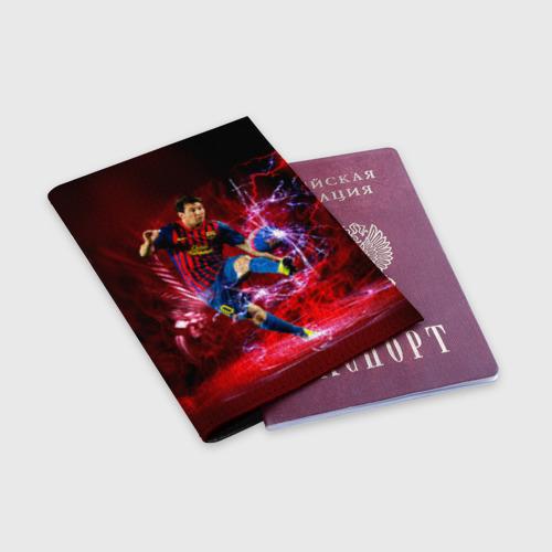 Обложка для паспорта матовая кожа  Фото 03, Messi
