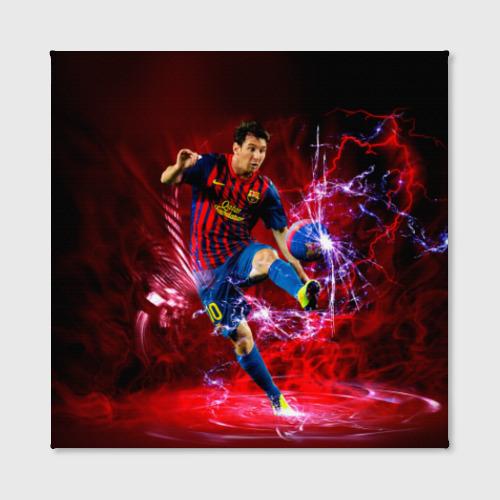 Холст квадратный  Фото 02, Messi
