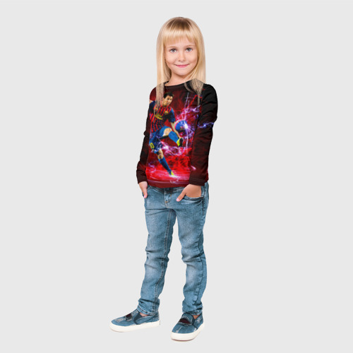 Детский лонгслив 3D Messi Фото 01