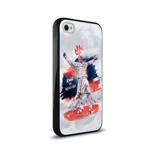 Чехол для Apple iPhone 4/4S силиконовый глянцевый  Фото 02, Beckham