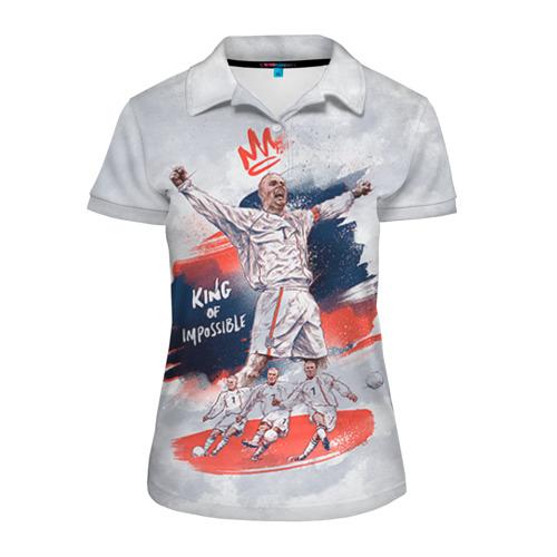 Женская рубашка поло 3D Beckham