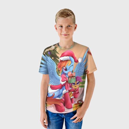Детская футболка 3D My Little Pony