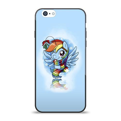 Чехол для Apple iPhone 6 силиконовый глянцевый My Little Pony от Всемайки