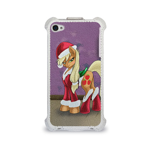 Чехол для Apple iPhone 4/4S flip My Little Pony