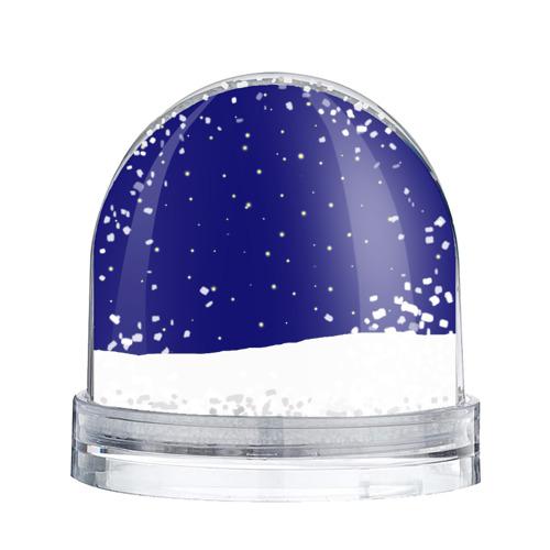 Водяной шар со снегом  Фото 02, Новый год у Симпоснов