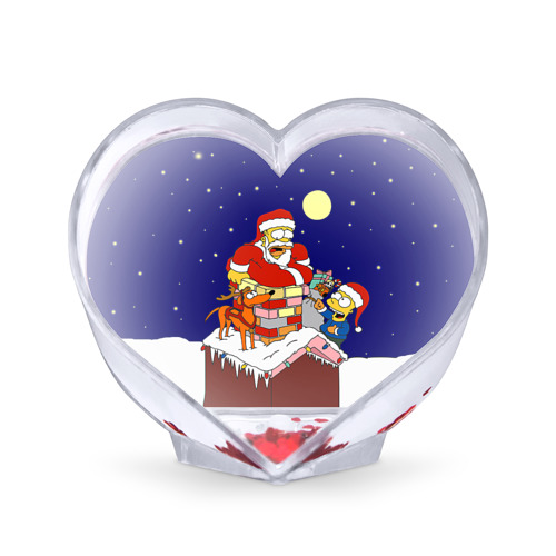 Сувенир Сердце  Фото 01, Новый год у Симпоснов