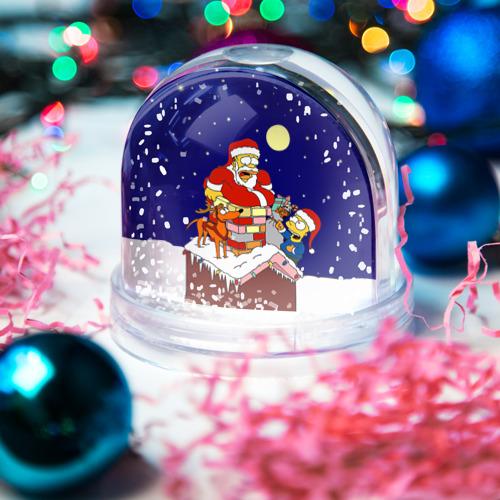 Водяной шар со снегом  Фото 03, Новый год у Симпоснов