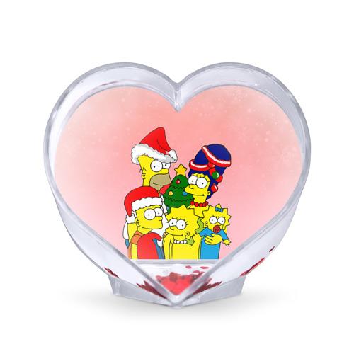 Сувенир Сердце NEW YEAR от Всемайки