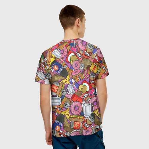 Мужская футболка 3D  Фото 02, Обжора Гомер