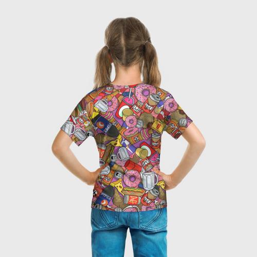 Детская футболка 3D Обжора Гомер Фото 01