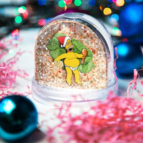 Водяной шар со снегом  Фото 03, Russian New Year