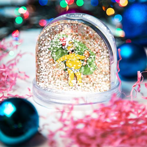 Водяной шар со снегом  Фото 04, Russian New Year