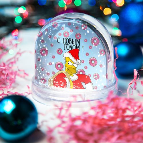 Водяной шар со снегом  Фото 03, С Новым Годом!