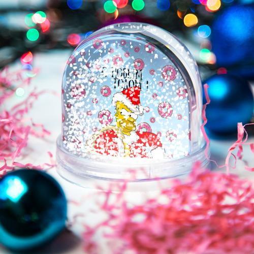 Водяной шар со снегом  Фото 04, С Новым Годом!