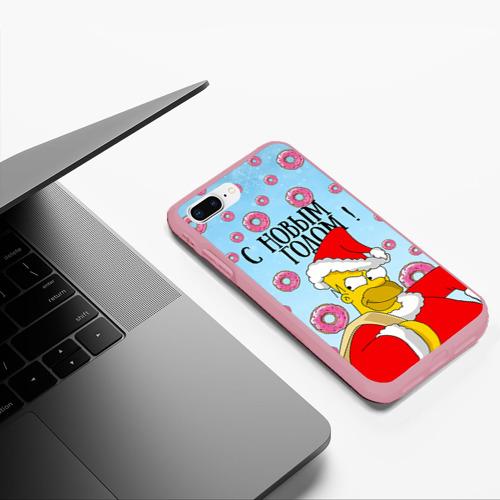 Чехол для iPhone 7Plus/8 Plus матовый С Новым Годом! Фото 01