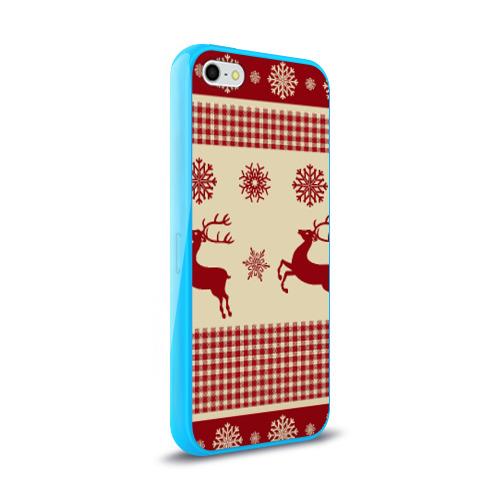 Чехол для Apple iPhone 5/5S силиконовый глянцевый  Фото 02, Новый год