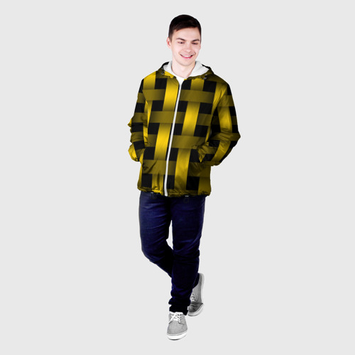 Мужская куртка 3D  Фото 03, Сетка