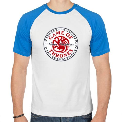 Мужская футболка реглан  Фото 01, House Targaryen