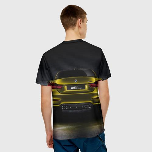 Мужская футболка 3D BMW M4 Concept