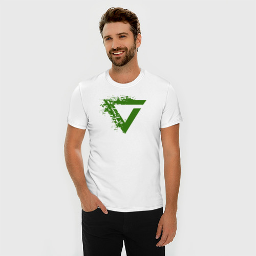 Мужская футболка премиум  Фото 03, Witcher Axii sign