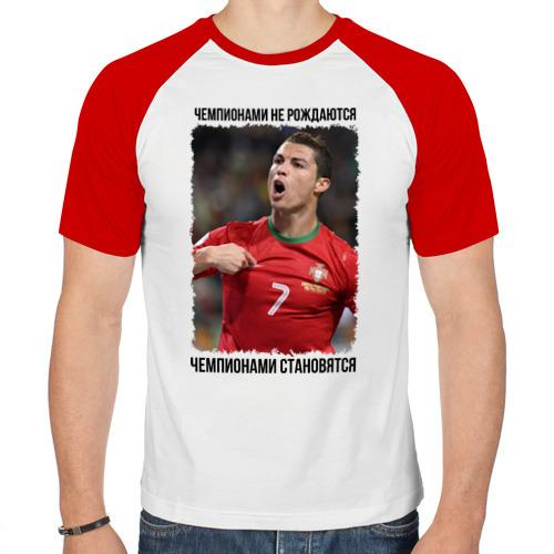 Мужская футболка реглан  Фото 01, Cristiano Ronaldo