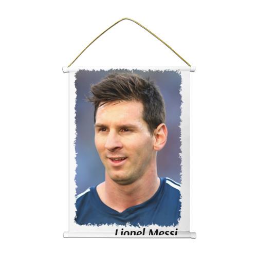 Тканевый плакат  Фото 01, Lionel Messi