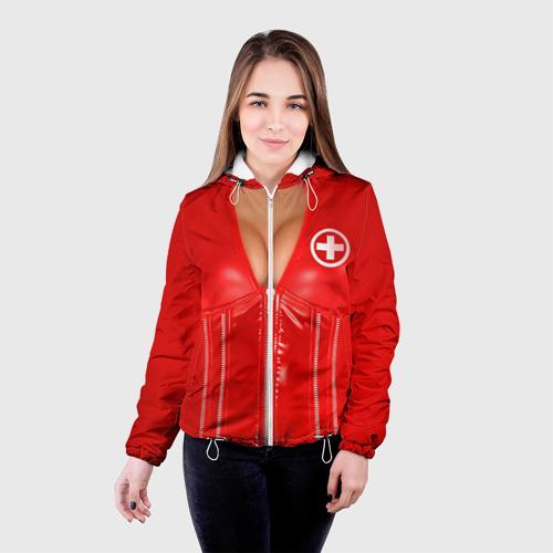 Женская куртка 3D  Фото 03, Костюм медсестры