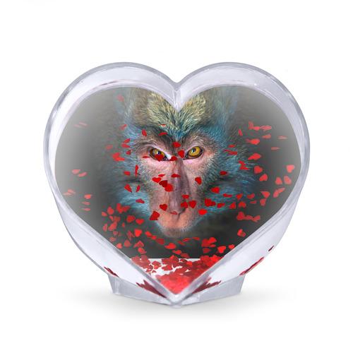 Сувенир Сердце  Фото 02, Обезьяна
