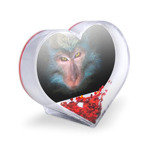 Сувенир Сердце  Фото 03, Обезьяна
