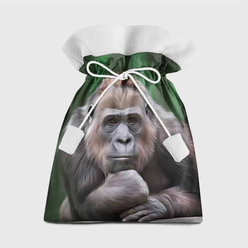 Подарочный 3D мешок Обезьяна