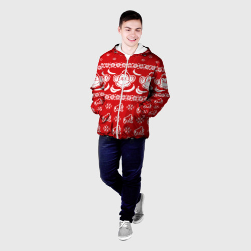 Мужская куртка 3D  Фото 03, Свитер обезьянки