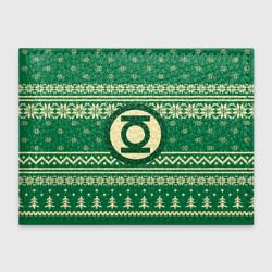 Свитер зелёный фонарь