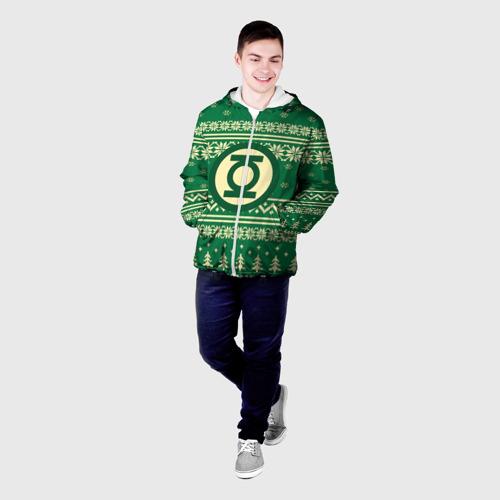 Мужская куртка 3D  Фото 03, Свитер зелёный фонарь