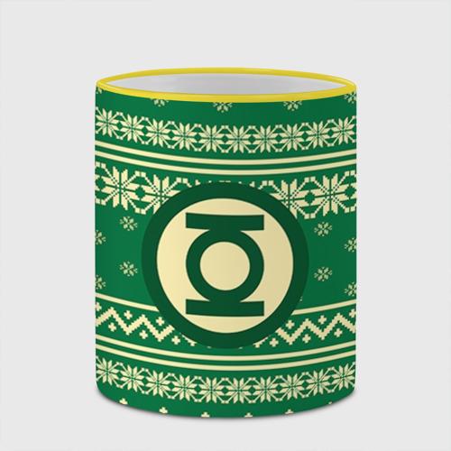 Кружка с полной запечаткой  Фото 03, Свитер зелёный фонарь