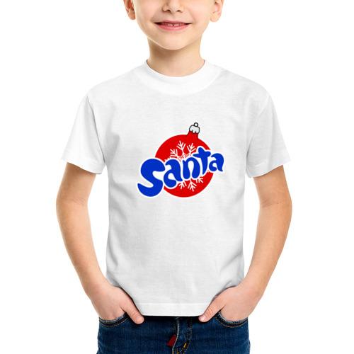 Детская футболка синтетическая Santa