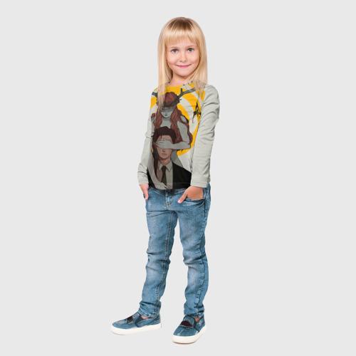 Детский лонгслив 3D  Фото 04, Настоящий детектив