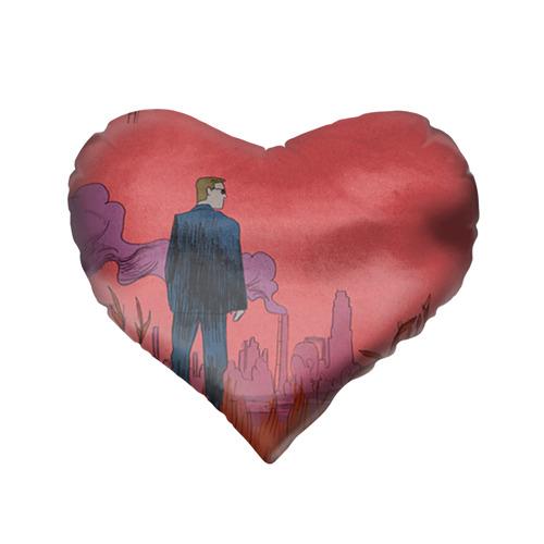 Подушка 3D сердце  Фото 02, Настоящий детектив