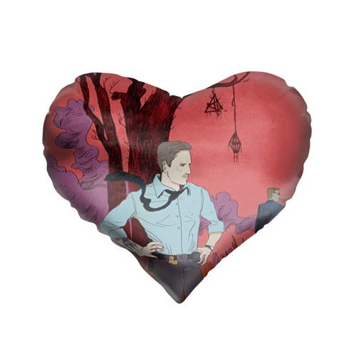 Подушка 3D сердце  Фото 01, Настоящий детектив