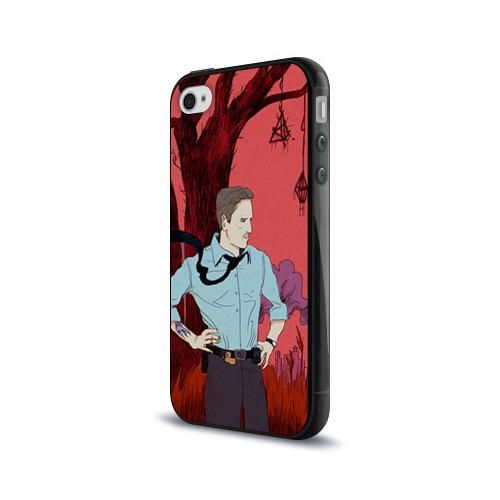 Чехол для Apple iPhone 4/4S силиконовый глянцевый  Фото 03, Настоящий детектив