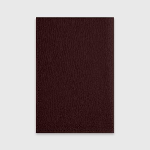 Обложка для паспорта матовая кожа  Фото 02, Рик и Морти