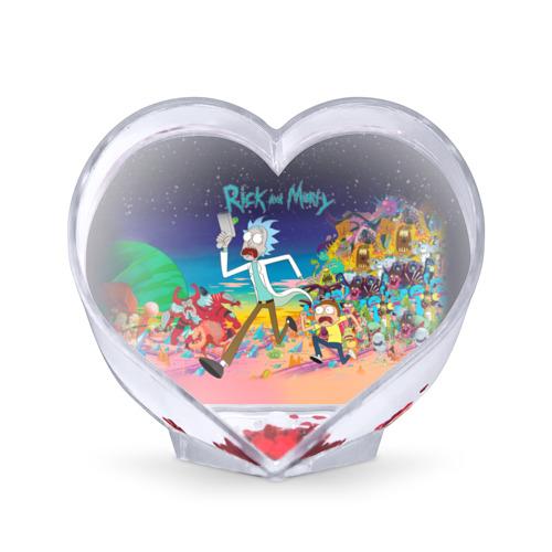Сувенир Сердце Рик и Морти от Всемайки