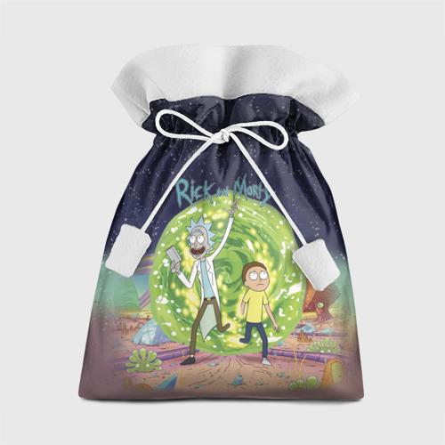 Подарочный 3D мешок Рик и Морти от Всемайки
